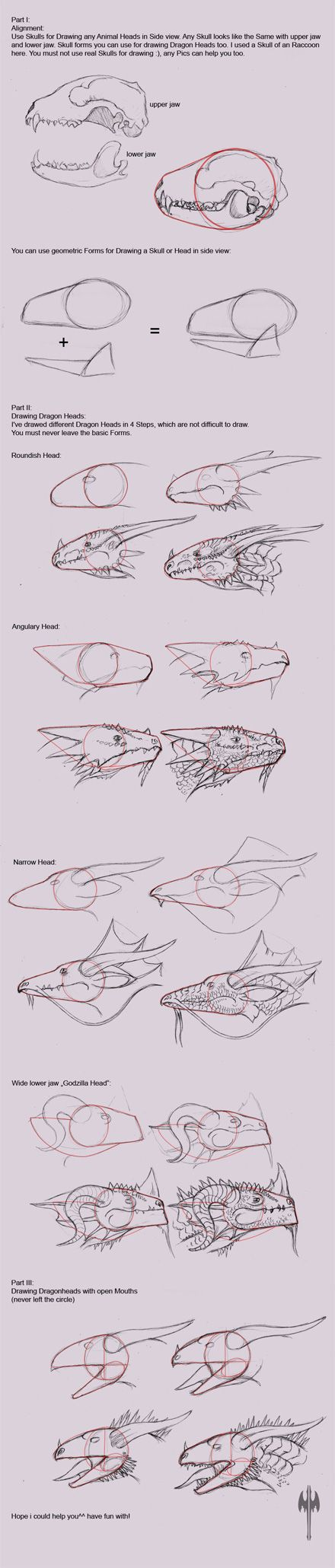 LEARN HOW DRAW A DRAGON