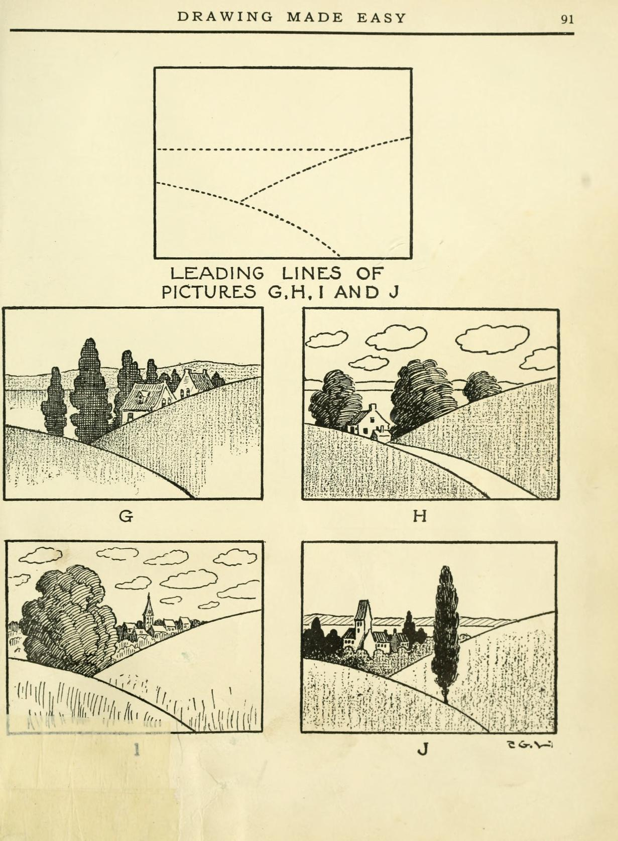 LEARN HOW TO DRAW A LANDSCAPE 2