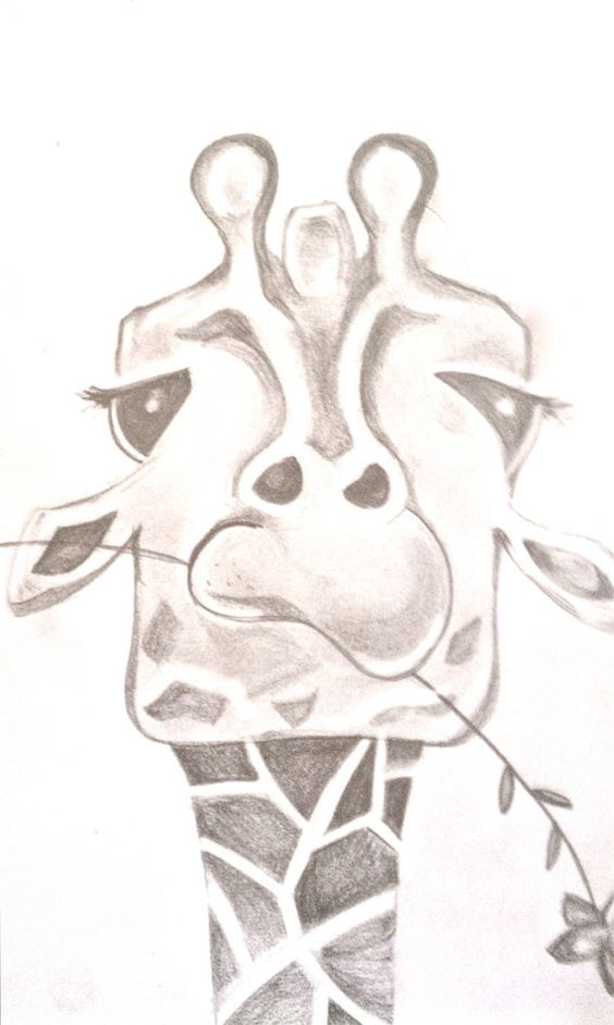 LEARN HOW TO DRAW A GIRAFFE