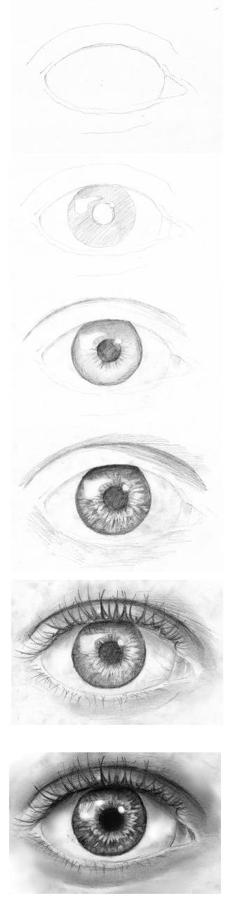 follow how to make intricate eye drawings