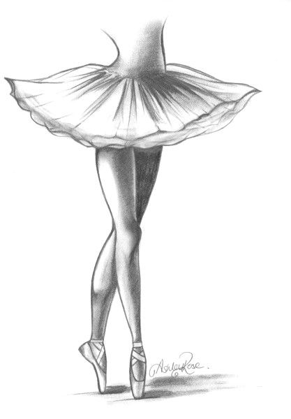 learn how to draw a balerina