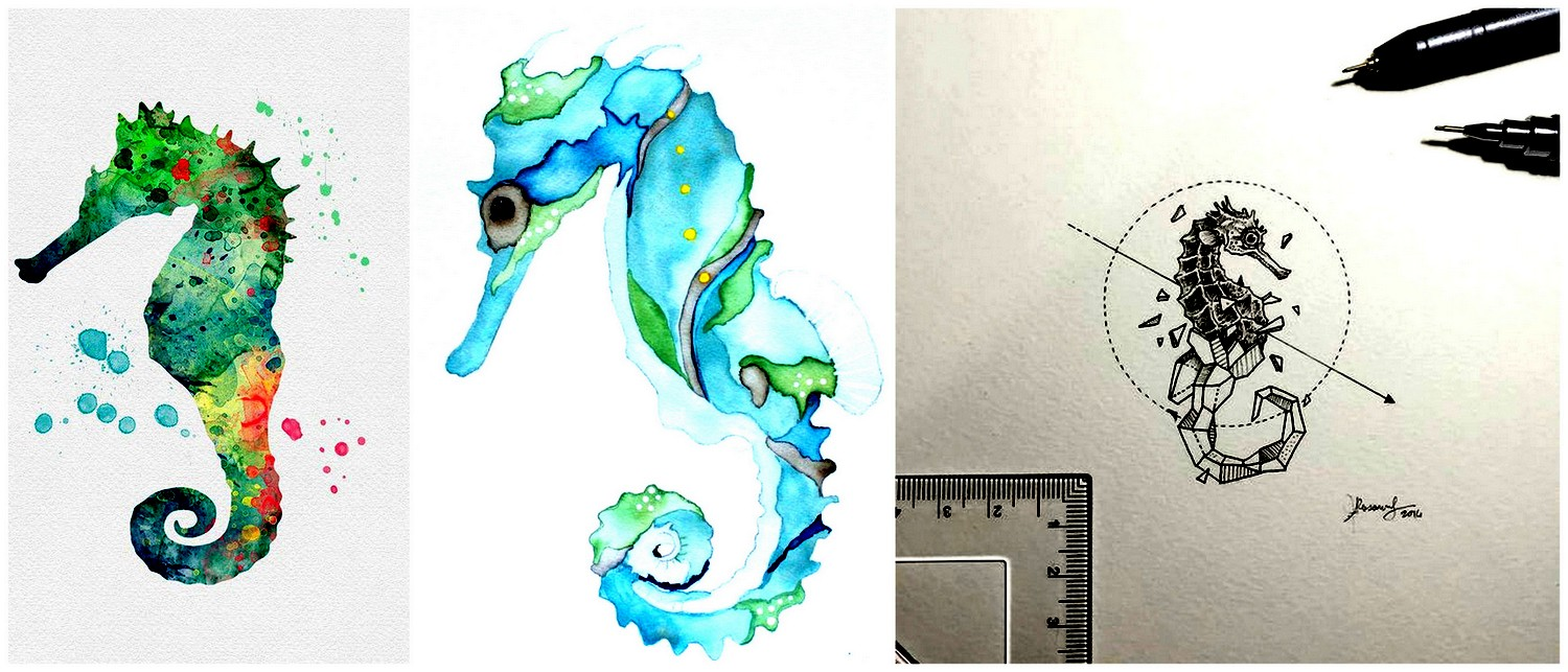 20 Seahorse Drawings Ranging From Cute To Utterly Fantastic The Things To Draw Journey